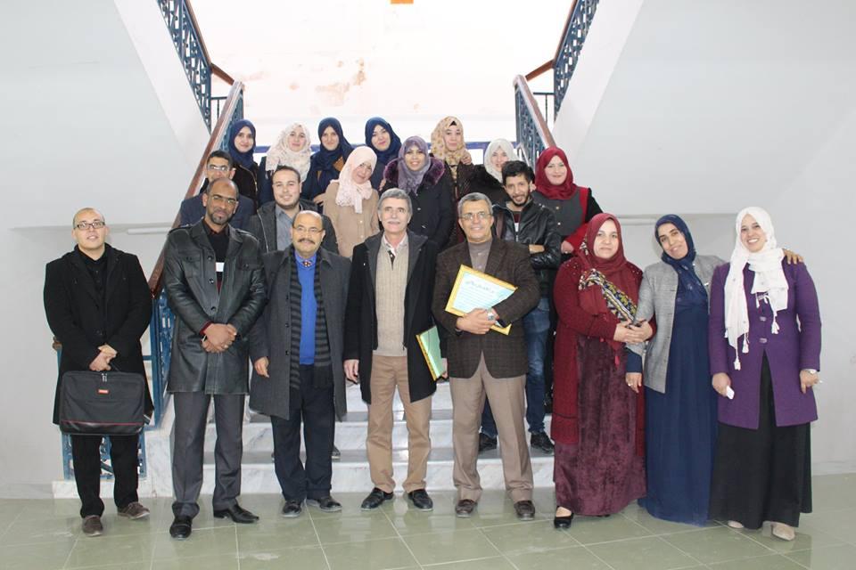 دورة تكوينية لطلبة دكتوراه إعلام واتصال جامعة أم البواقي